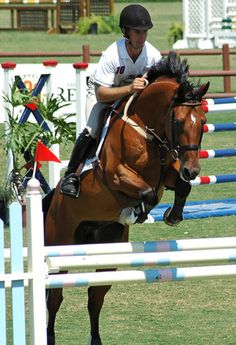 DIY horse jump, step by step how to build horse jumps. Pretty cool!