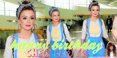 HAPPY BIRTHDAY TO THE GORGEOUS AND TALENTED CHER LLOYD!