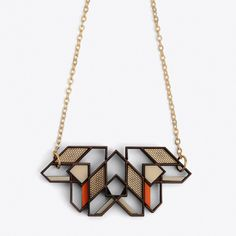 Aicha Necklace ($73) ❤ liked on Polyvore featuring jewelry, necklaces, wood pendant necklace, wooden chain necklace, handcrafted necklaces, handcrafted jewelry i wood necklace