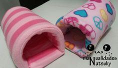 Cueva para cobaya #manualidades #cobaya #costura #hamaca #roedor #mascotas