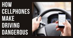 Using cellphones while driving increases your risk of a crash by 12 times, and that's just for dialing. http://articles.mercola.com/sites/articles/archive/2016/03/09/texting-while-driving.aspx