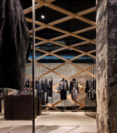 Detail of Hugo Boss Concept Store, New York (US), 2007–08 - © Paul Warchol