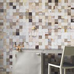 Scrapwood Wallpaper 2  by Piet Hein Eek for NLXL