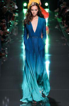 Paris Fashion Week: Elie Saab RTW Spring Summer 2015