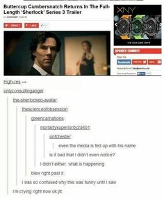 Butterwho? | 21 Times The Internet Had Zero Respect For Benedict Cumberbatch's Name