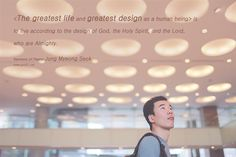 Sermons of Pastor Jung Myeong Seok<The greatest life and greatest design as a human being> is to live according to the design of God, the Holy Spirit, and the Lord, who are Almighty. - Mannam&Daewha, Pastor Jung Myeong Seok, Christian Gospel Mission