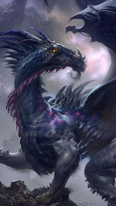 Dragons, dragon #dragon #art #painting                                                                                                                                                                                 More