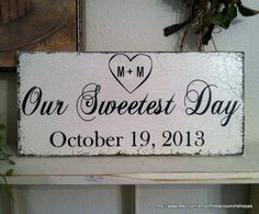 Hey, I found this really awesome Etsy listing at http://www.etsy.com/listing/129749481/our-sweetest-day-with-heart-initials-and