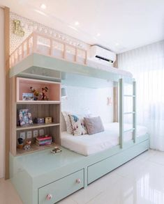 Rustic Tree Decor Bed For Girls Room, Bedroom Decor For Teen Girls, Cute Bedroom Ideas, Room Ideas Bedroom, Small Room Bedroom, Awesome Bedrooms, Small Rooms, Cool Girl Rooms, Room Kids