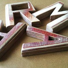 Personalized letters. Birch plywood .  Letras madera personalizadas, Contrachapado abedul. Birch, Lyrics