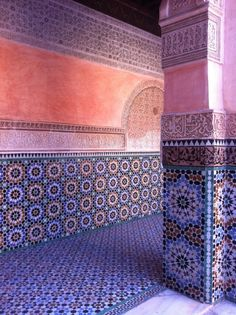 Marrakesh, deep south of Morocco Moroccan Pattern, Moroccan Design, Moroccan Tiles, Oriental Pattern, Moroccan Decor, Marrakesh, Marrakech Morocco, Islamic Architecture, Art And Architecture