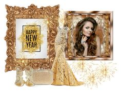"""""""New Year's Gown"""" by atenaide86 ❤ liked on Polyvore featuring Judith Leiber and KOTUR"""