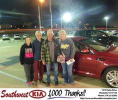 #HappyBirthday to Debra Struck from Russell Paulov at Southwest Kia Mesquite!