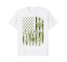 b99f3d4e9 ARMY Proud Mom ARMY T-Shirt for mother of American soldier. Great gift idea