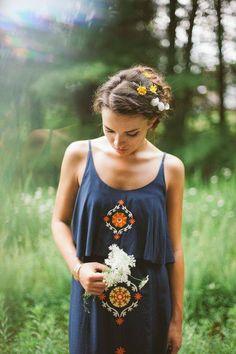 Hair / dress / nature