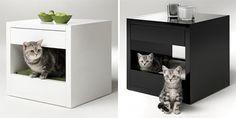 plus de 1000 id es propos de liti res sur pinterest liti re caisse bo tes de chat et gatos. Black Bedroom Furniture Sets. Home Design Ideas
