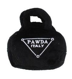 Designer Dog Toy Pawda Squeaky Puppy Toy ... I think I may need to get a female friend for Gus!