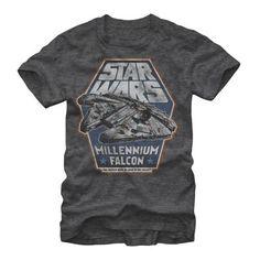 Star Wars Millennium Falcon Hunk of Junk Mens Graphic T Shirt 66e210020