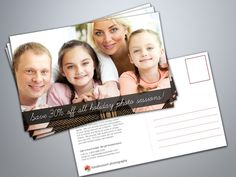Free Postcard Templates for Photographers #marketing