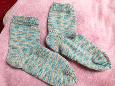 Handmade knitted socks 3ply