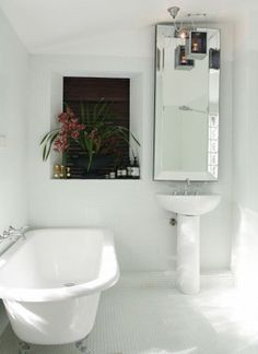 Love it (but with traditional pedestal basin)!