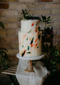 Intimate Indoor Elopement Inspiration - Inspired By This Wedding Desserts, Wedding Cakes, Wedding Reception, Wedding Day, Elopement Inspiration, Industrial Wedding, Elopements, Catering, Food Ideas