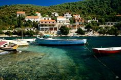Top 10 Croatian highlights -- Boats moored on the beautiful island of Korcula on the Southern Dalmatian Coast. #lp