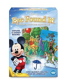 World of Disney Eye Found It Card Game @ niftywarehouse.com #NiftyWarehouse #Disney #DisneyMovies #Animated #Film #DisneyFilms #DisneyCartoons #Kids #Cartoons