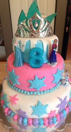 Disney Frozen Birthday Cakes | Disney's Frozen birthday cake