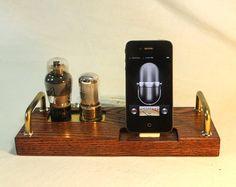 iPhone 5 Dock iPod Dock New Lighting Plug Kit or 30 by woodguy32