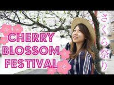 (15) Cherry Blossom Festival & Japanese Festival Food/Gold Ice Cream   Kenrokuen Garden 金沢 兼六園 桜祭り - YouTube
