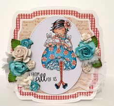Spotlight On: Tiny Townie Becky Loves Bunny Wobbles | stamping bella