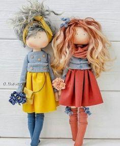 1 или by Tiny Dolls, Soft Dolls, Doll Clothes Patterns, Doll Patterns, Sewing Dolls, Cute Toys, Waldorf Dolls, Doll Crafts, Fabric Dolls