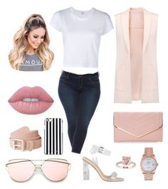"""Sin título #7"" by milly-holguin on Polyvore featuring moda, Rebecca Minkoff, Slink Jeans, RE/DONE, Sasha, MICHAEL Michael Kors, Lime Crime, Rolex y plus size clothing"