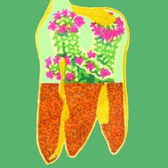 #tooth #terrarium #redbubble #cactus #humantooth #humanteeth #dental #dentist #dentistart #homedecor #wallart #cactusflower #flower #art
