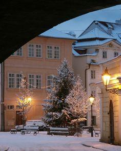 Winter in #Prague #Kampa