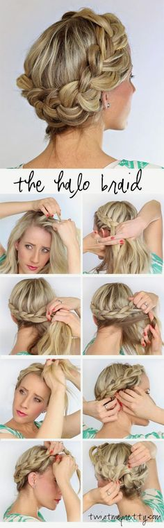 It can be really tough to make your hair look its best. Many things can make it difficult to maintain healthy locks, including weather and hair care products. This article offers several easy ways to protect and improve your hair. Don't brush your hair. Messy Braided Hairstyles, Messy Braids, Braided Hairstyles Tutorials, Diy Hairstyles, Pretty Hairstyles, Wedding Hairstyles, Crown Braids, Hair Tutorials, Dutch Braids