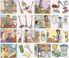 Objetos de limpieza