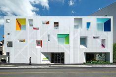 Novos usos para a cor na arquitetura: contemporâneos inserem tons de forma original