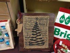 Wheelbarrow Cottage: Fall / Christmas Pallet Signs