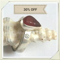 Hey, I found this really awesome Etsy listing at https://www.etsy.com/uk/listing/537195309/bespoke-rare-red-seaham-seaglass-ring-2