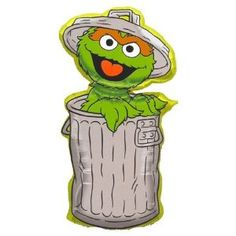 how to draw oscar the grouch step by step