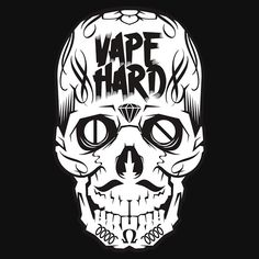 """Vape Hard"" T-Shirts & Hoodies by GG160 