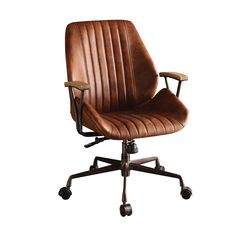 Leather Desk Chair Hamilton Cocoa Leather Top Grain Leather Office Chair Brown Office Chairs Home Office Furniture The Home Depot Leather Desk Chair Uk – ifckr. Swivel Office Chair, Executive Office Chairs, Home Office Chairs, Desk Chairs, Room Chairs, Dining Chairs, Lounge Chairs, Best Office Chair, Bedroom Office