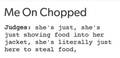 <i>Chopped</i> is love. <i>Chopped</i> is life.
