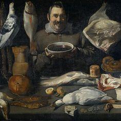 Kitchen Scene (Bodegone), Meester van de Amsterdamse Bodegón, 1610 - 1625 - Rijksmuseum