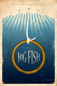 Big Fish 24x36 Movie Poster. $45.00, via Etsy.