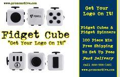 Wholesale Fidget Cubes. Get Your Logo On It! #promotional product #swag #logo