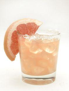Perfectly refreshing - Ruby red grapefruit margarita