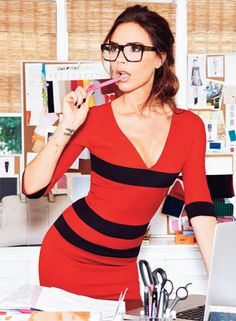 Victoria Beckham launches a new line of glasses